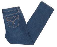 Calvin Klein Skinny Jeans Hose Gr. W 30 / L 32 Dunkelblau Blau 30/32 -Z1597