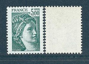 TIMBRE 2123b NEUF XX LUXE - SABINE DE GANDON - GOMME TROPICALE - TTB