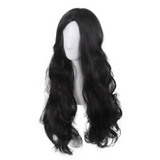 Wonder Woman Black Wavy Wig Diana Prince Cosplay Long Curly Wig For Cosplay