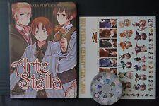 "JAPAN Hidekaz Himaruya: Hetalia Axis Powers Art book ""Arte Stella"""