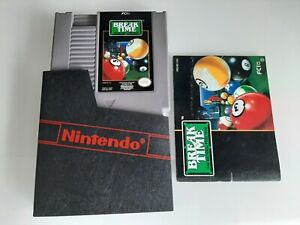 Break time the national pool tour(Nintendo Entertainment System)  with manual