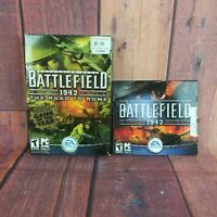 Battlefield 1942 PC Video Game with The Road To Rome Expansion Pack