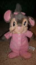 UNIVERSAL STUDIOS- TOY NETWORK RARE AN AMERICAN TAIL YASHA BABY MOUSE plush #G8