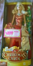 "Barbie holiday doll Eden Starling in A Christmas Carol - 12"" mint in box, 2008"