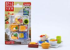 IWAKO JAPANESE ERASERS Japanese Food Bliser SET