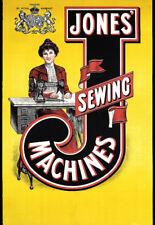 Jones Sewing Machine  Poster Print
