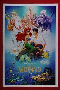 Walt Disney The Little Mermaid Flounder Movie Picture Poster 24X36 NEW    MERM