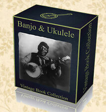 145 Rare Banjo Ukulele Books - Learn to Play DVD Songs Music Banjolele String 43