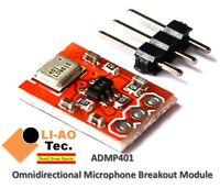 ADMP401 Omnidirectional Microphone MEMS Breakout Board Module