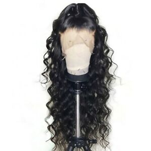 "Stock Lace Front Brazilian Ocean Water Wave Human Hair Human Wig 22"" 180%"