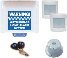 Watchguard Wireless DIY Alarm Kit Security System for Home Office, up to 8 zones