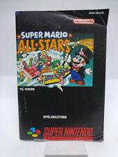 Anleitung - Handbuch - Bedienungsanleitung Super Nintendo - Super Mario Allstars