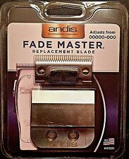 ANDIS FADE MASTER CARBON BLADE #01591 ML ADJUSTABLE  000000-000 MADE IN USA