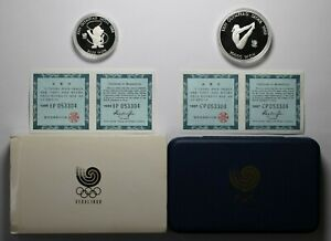 1988 Seoul Olympic Silver 2 Coin Proof Set - 176095A