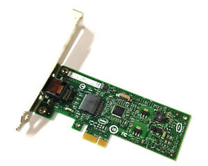 Intel Gigabit CT Desktop 1Gbe Ethernet Adapter PCIe x1 Netzwerkkarte 1x RJ45 LAN