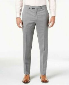 Kenneth Cole New York Men's Slim Fit Stretch Performance Solid Travel 48R  W42
