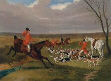 "John Frederick Herring: ""Suffolk Hunt: The Death"" (1833) — Giclee Fine Art Print"