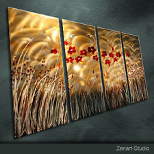 Modern Abstract Metal Wall Art Original Special Indoor Outdoor Decor by Zenart