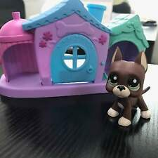 Hasbro Littlest Pet shop LPS #1519 one Great Dane Dog Rare Not including house