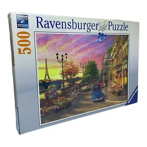Brand New & Sealed Ravensburger A Paris Evening 500 Piece Jigsaw Puzzle (2014)