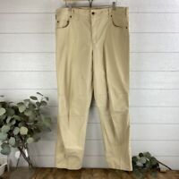 Orvis Men's Size 38x31.5 Trout Bum Cotton Nylon Fishing Pants Tan Khaki