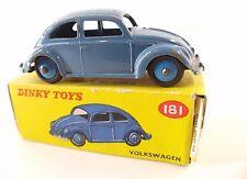 Dinky Toys GB n° 181 Volkswagen VW Beetle Coccinelle en boîte