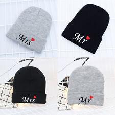 1PC Elastic Winter Warm Soft Black Gray Ski Cap Knit Hat Beanie Men Women  Couple 7ff65099c