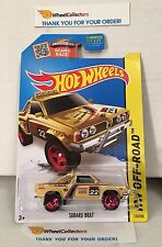 Subaru Brat #123 * Tan Kmart * Hot Wheels 2015 USA Card * G11