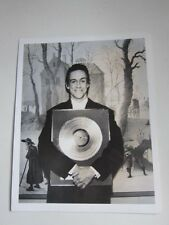 IGGY POP  8X10 photo holding gold record