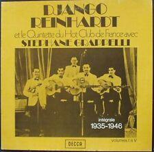 Django Reinhardt - Vtet HCF 35/46 Box 5xLp/vinyle/33/30-FRA DECCA 115/24