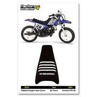 Enjoy MFG 2005-2014 Yamaha TTR 230 Black Sides Blue Top Full Gripper Seat Cover