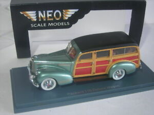 PACKARD 110 DELUXE WOODIE WAGON 1941 NEO RESINE 1/43° REFERENCE 44650
