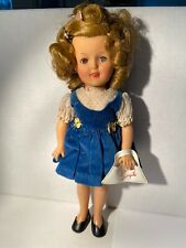 Vintage 1956 12 Inch Shirley Temple Doll, Clothes & Accessories, Original Purse