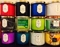 BATH & BODY WORK 3 Wick 14.5 OZ CANDLES: BEST 21 Scents FLAT $19.99! BEST DEAL!