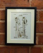 Brevetto USA disegno di tubazioni WRENCH Idraulico Strumento fai da te stampa montata 1905 REGALO DI NATALE