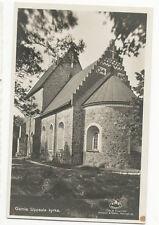 Sweden - Gamla Uppsala Kyrka - Vintage Real Photo Postcard