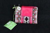 Vera Bradley Bi-fold Wallet IMPERIAL Toile Pocket Mini Frill G2G NWT New