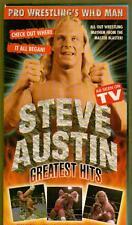 VHS WRESTLING TAPE STEVE AUSTIN GREATEST HITS WERE IT ALL BEGAN EARLY DAYS