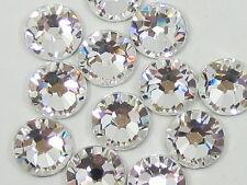 Swarovski® Genuine RHINESTONE Flat-Back Crystals AB Clear gems beads nail art