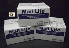 LOT de 300 Enveloppes à Bulle Blanches B/2 format 120 x 210 mm Mail Lite