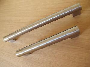 22mm diameter Boss Bar kitchen door handle keyhole stainless steel effect HAFELE