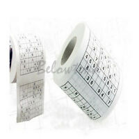 Creative Funny Game Toilet Paper Roll Game loo Tissue Novelty Gift Newest