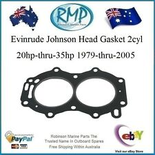 A Brand New Head Gasket Evinrude Johnson 20hp-thru-35hp 1979-thru-2005  R 329419