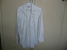 Ermenegildo Zegna White Business Long Sleeve Shirt - Preowned