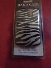 Blackberry Curve Hard Case Silver Tigerskin Case