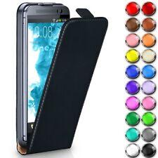 HTC Handyhülle Flip Case Ultra Slim Full 360 Grad Schutz Hülle Handy Tasche Etui