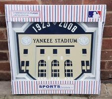 Major League Baseball MLB Yankee Stadium 85th Anniversaire Plaque murale New York