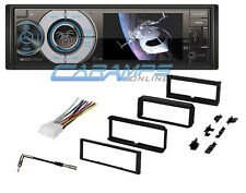"NEW 3.4"" SOUNDSTREAM CAR STEREO RADIO WITH CD AND DVD PLAYER & DASH INSTALL KIT"
