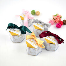 Creative Marbling style Candy Boxes Wedding Favors Gifts Box Party Supplies,