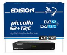 Edision Piccollo Combo SAT + KABEL TV + DVB-T2 + IPTV HDTV Receiver H.265 HEVC